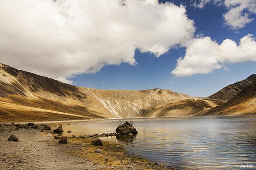 Laguna del sol nevado de Toluca