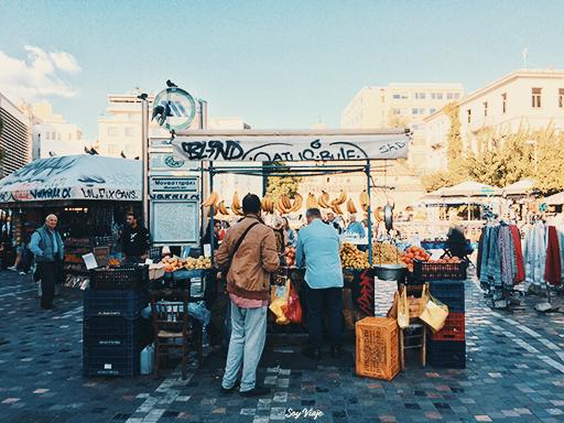 Mercado de Pulgas de Atenas