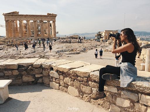 Partenon en Atenas, Grecia