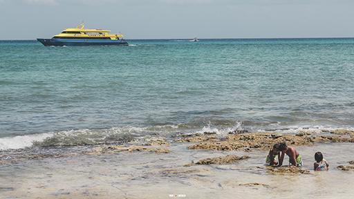 Playa del carmen el mar
