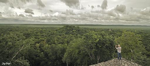 Calakmul capeche mexico