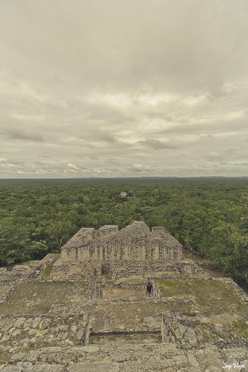 Calakmul Zona arqueologica