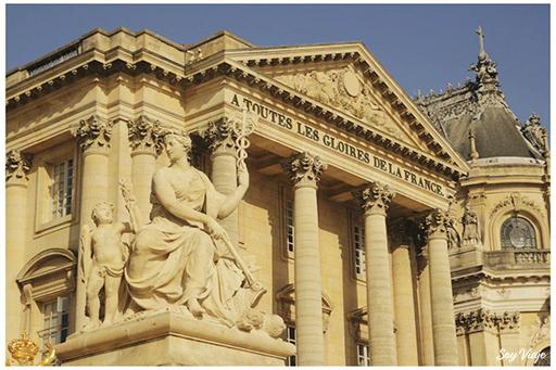 detalles palacio de versailles