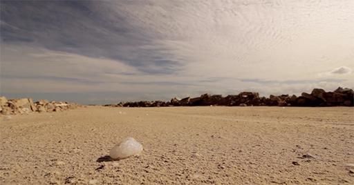 Espuma de sal, Las Coloradas