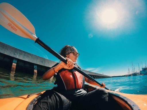 Kayak GoPro Hero 6