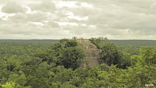 Zona arqueologica Calakmul