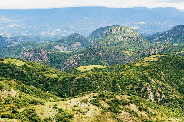 Montañas de Oaxaca