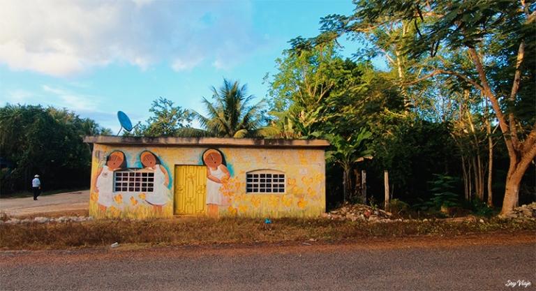 Casas de Chacchoben