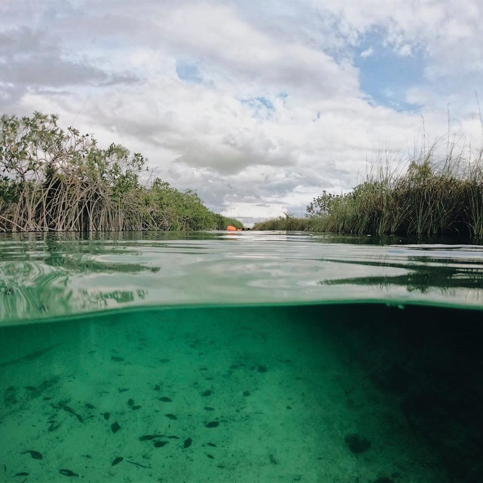 Canales mayas de Sian Ka'an
