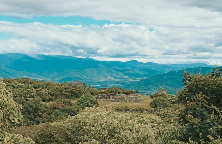 Monte Alban vista