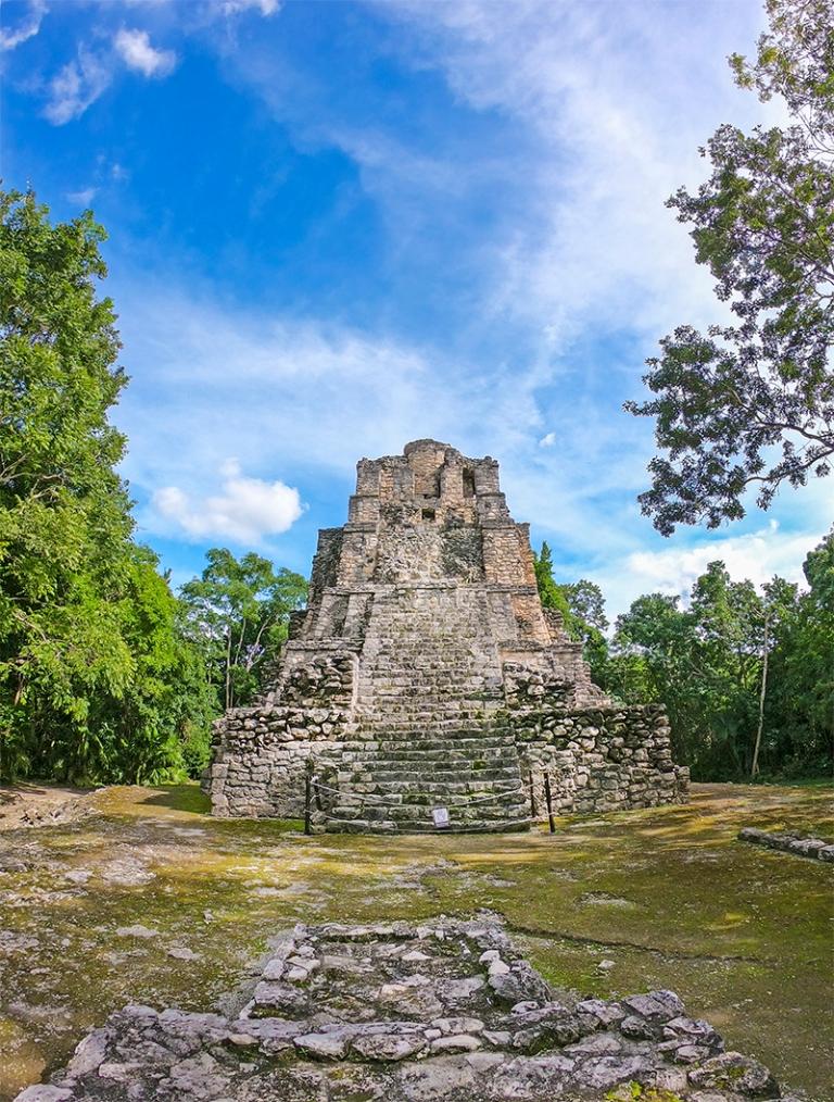 Zona Arqueológica de Muyil, Quintana Roo, Mexico