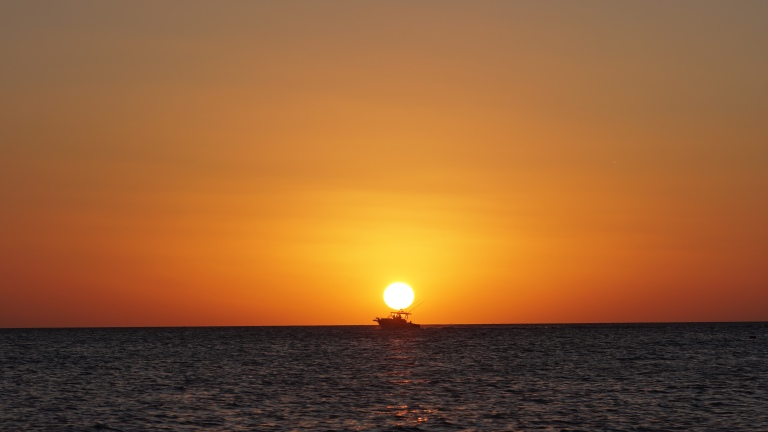 Sunset in Holbox