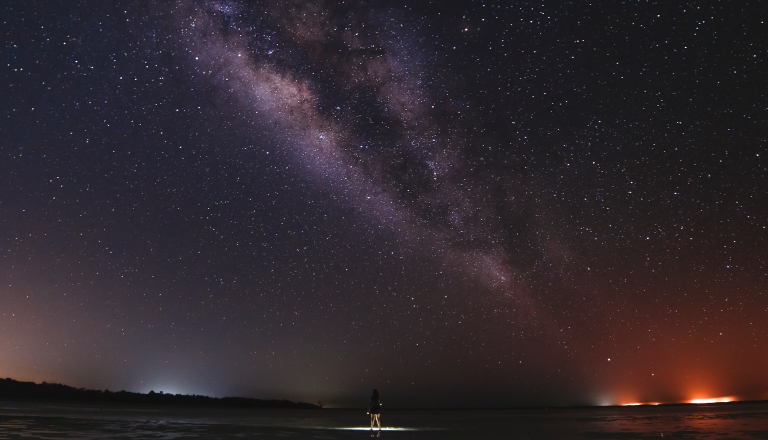 Milky Way over Holbox